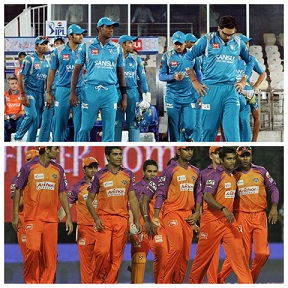 The BCCI and IPL had a lot of issues iwth KTK and PWI, leading to termination of both teams from the league