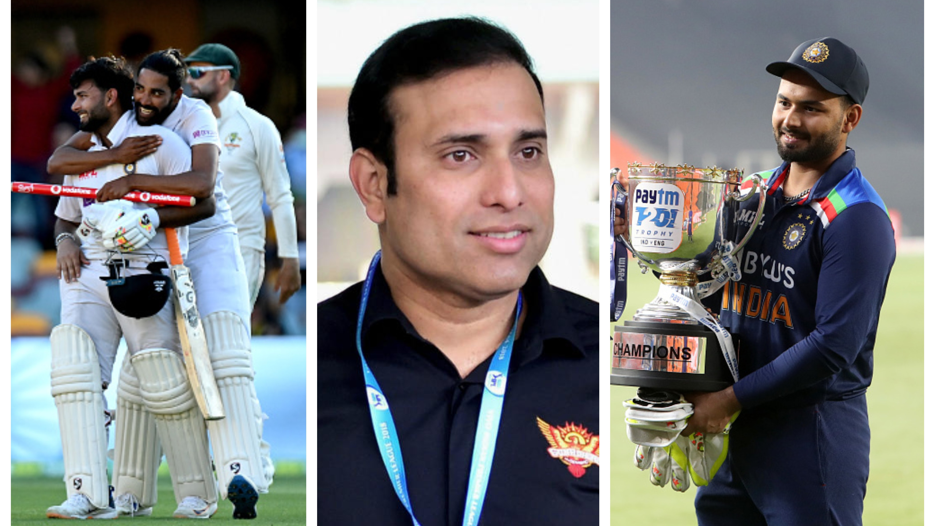 "VVS Laxman hails Team India's magnificent season, calls Rishabh Pant ""undisputed star of the show"""