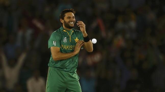 Shahid Afridi has played 99 T20I internationals for Pakistan | AFP