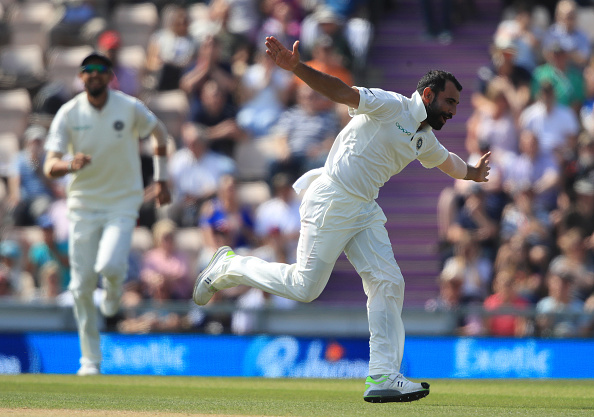 Mohamad Shami ran out Joe Root and dismissed Bairstow, Rashid and Jennings | Getty