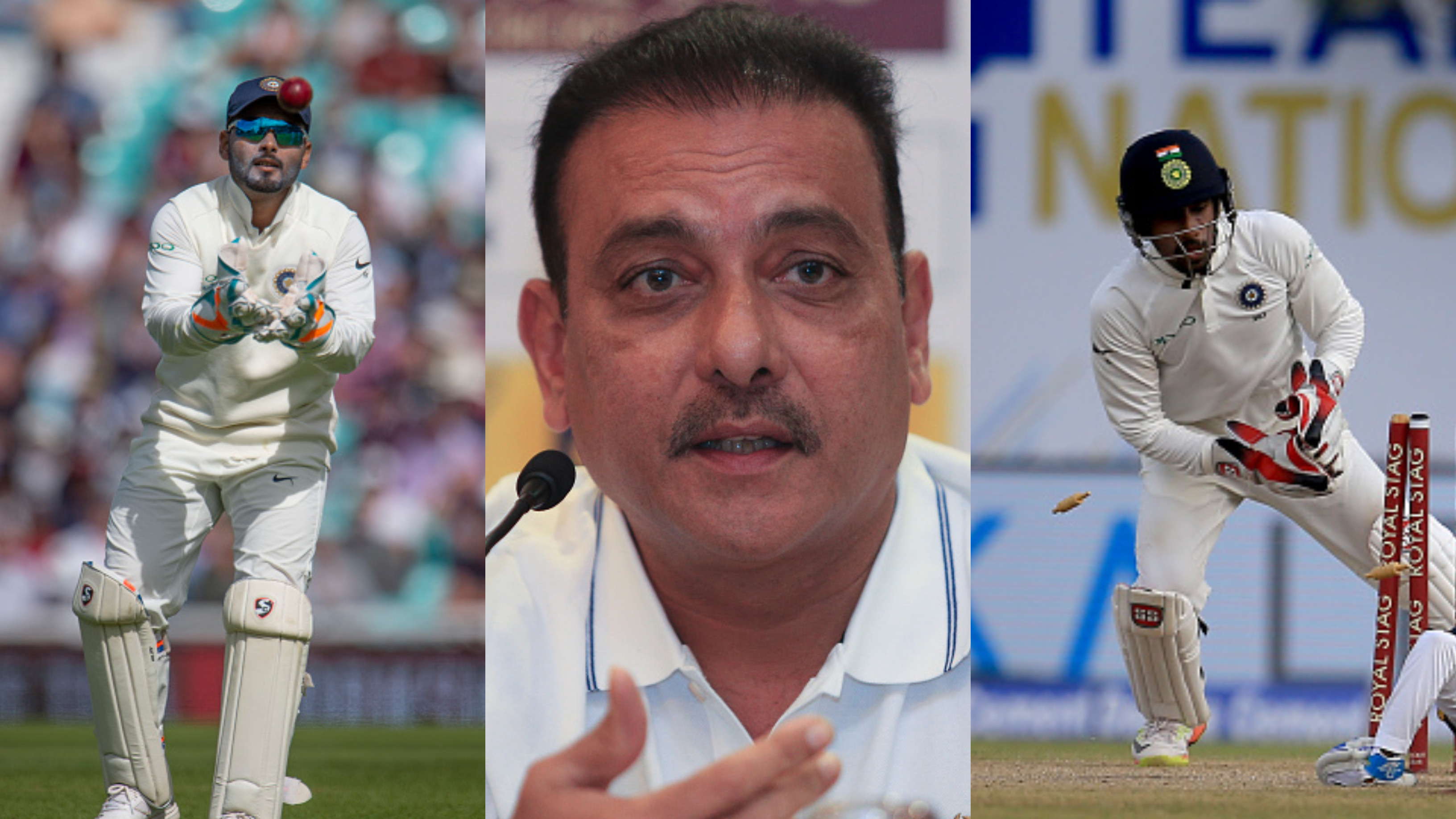 Ravi Shastri spills the beans on his choice of wicket-keeper for Australia tour