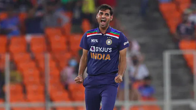 Bhuvneshwar was nominated for his 6 wickets against England in T20I series at economy rate of 6.38 | Getty