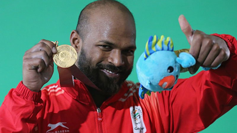 Indian cricketers congratulate weightlifter Sathish Sivalingam for winning gold medal in Commonwealth Games