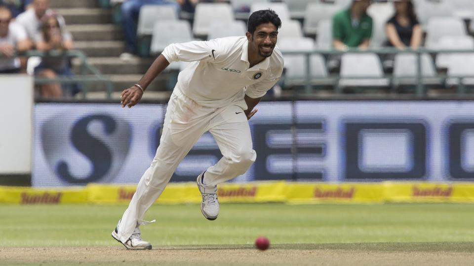 Jasprit Bumrah made his Test debut in the first Test against SA at Cape Town | AP