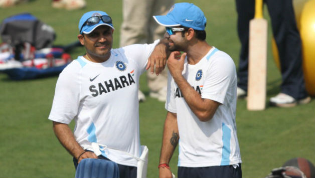 IPL 2018: A surprised Virat Kohli says 'Viru Paa - Paagal Ho Gaye Hain'