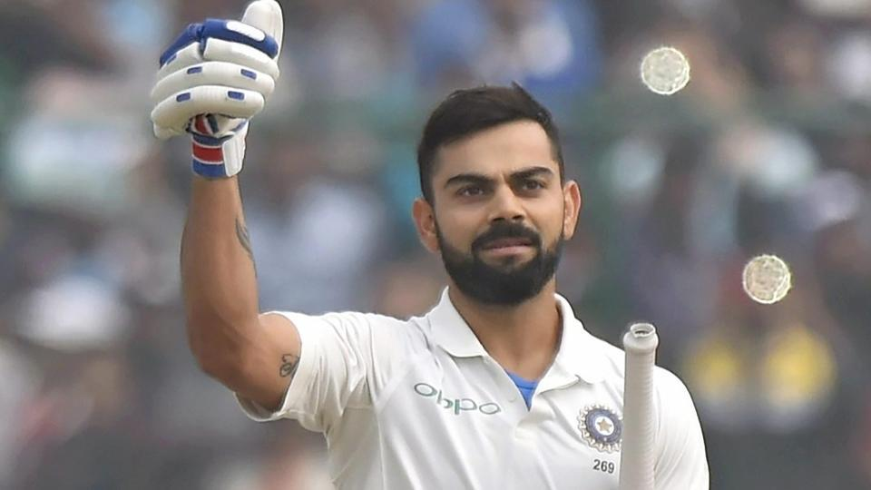 Virat Kohli is the current no.1 ranked test batsman with over 6,000 runs in over 75 Tests