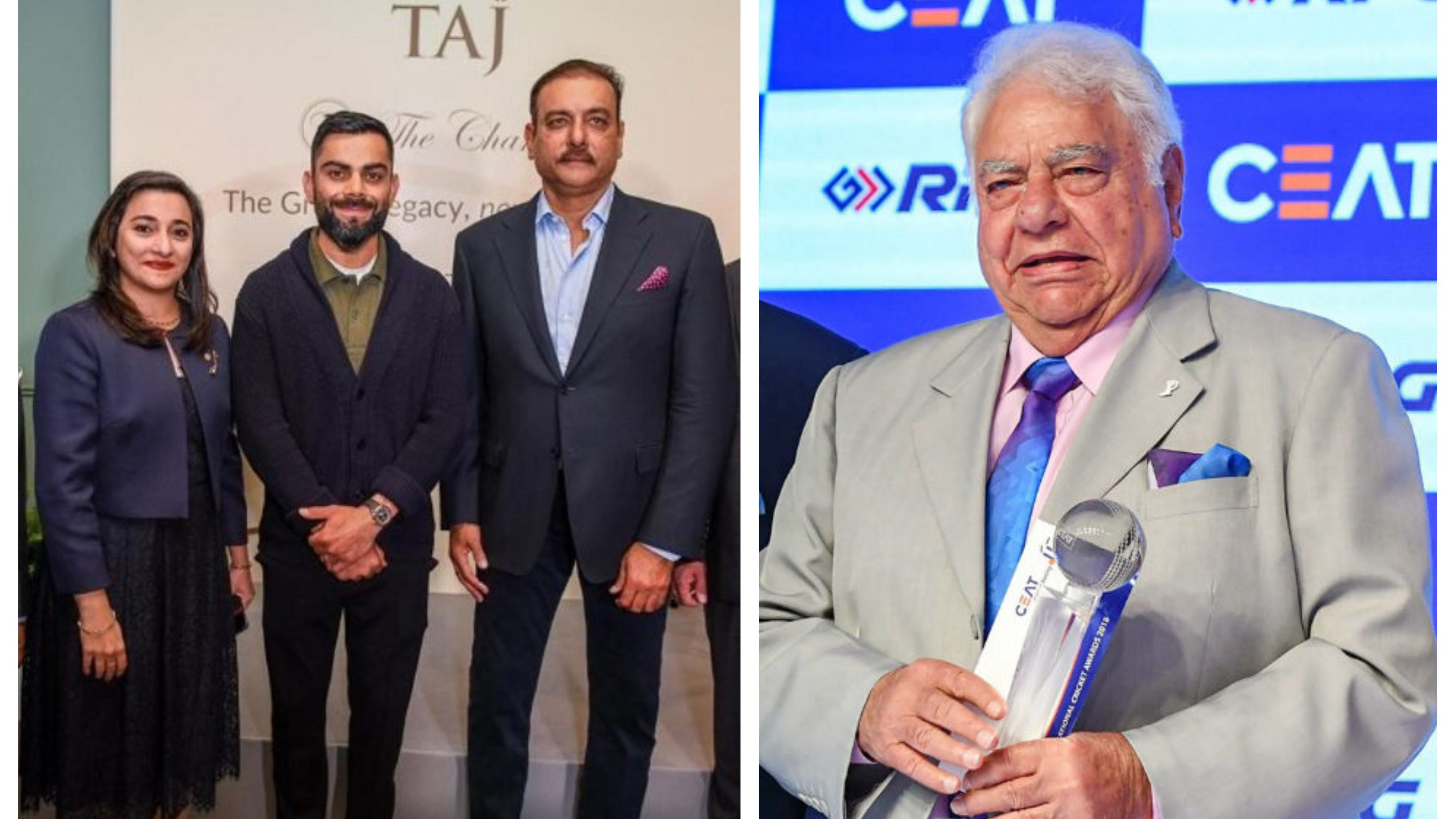 ENG v IND 2021: 'You can't blame them for going to a book launch', Farokh Engineer defends Kohli and Shastri