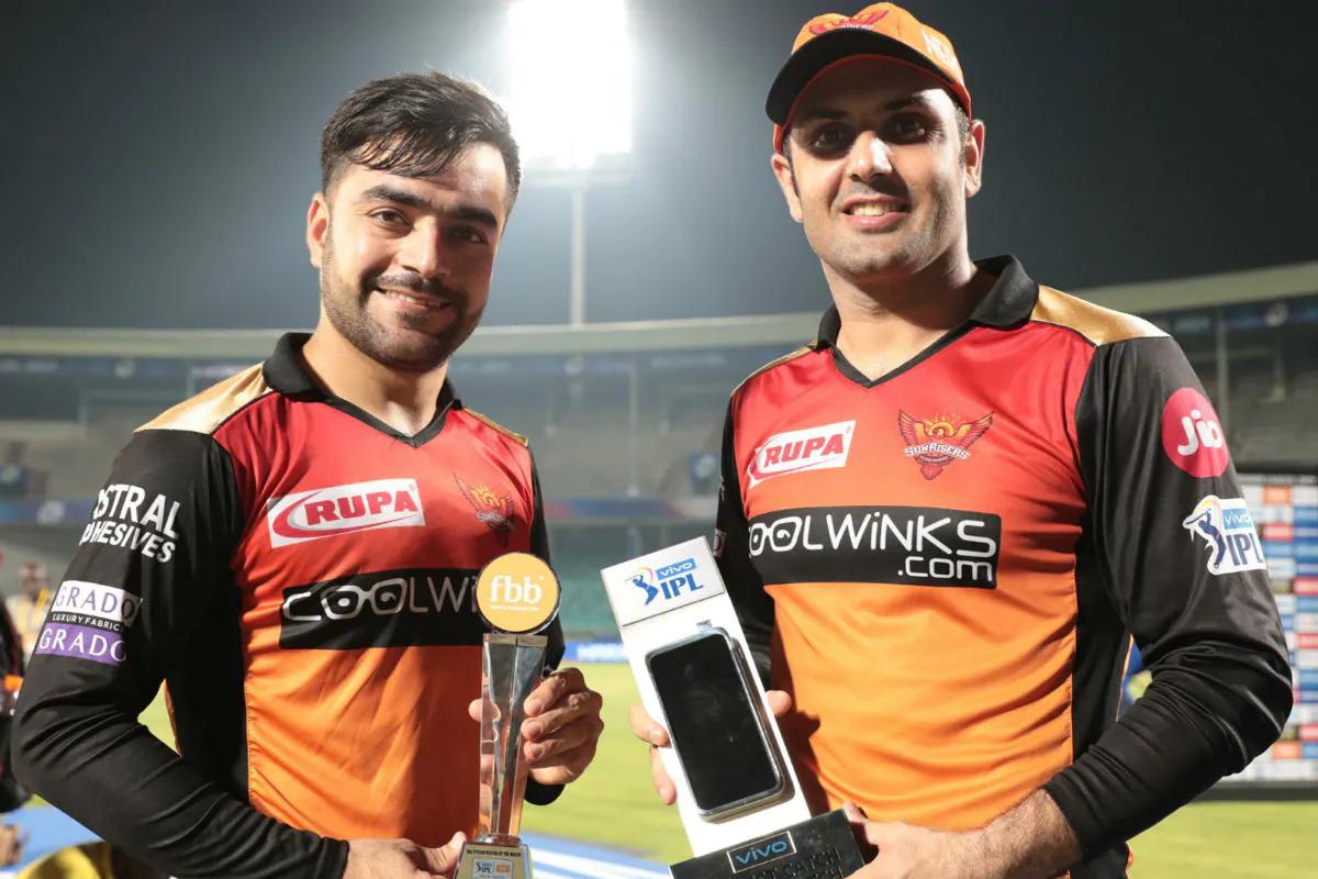 Rashid Khan and Mohammad Nabi | BCCI/IPL