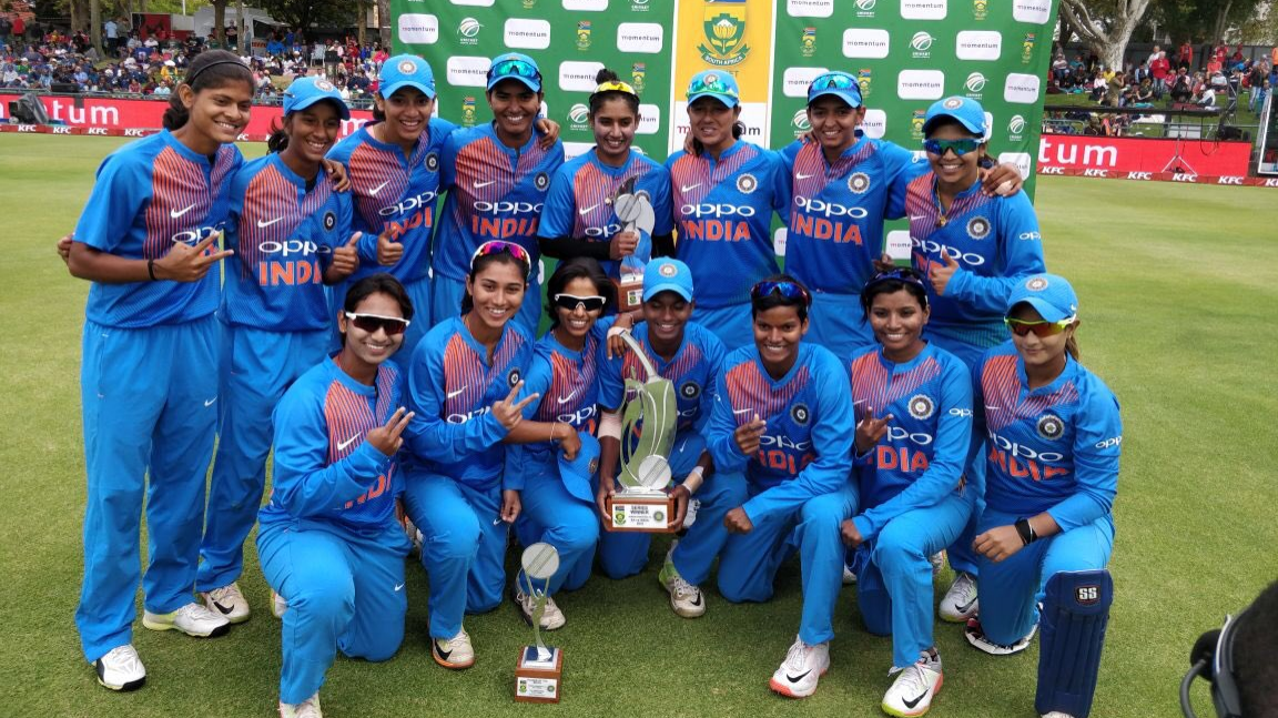 Twitteratis laud Indian Women's Team historic T20I series victory against South Africa