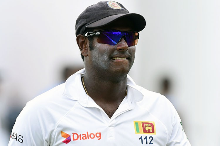 Angelo Mathews (AFP)