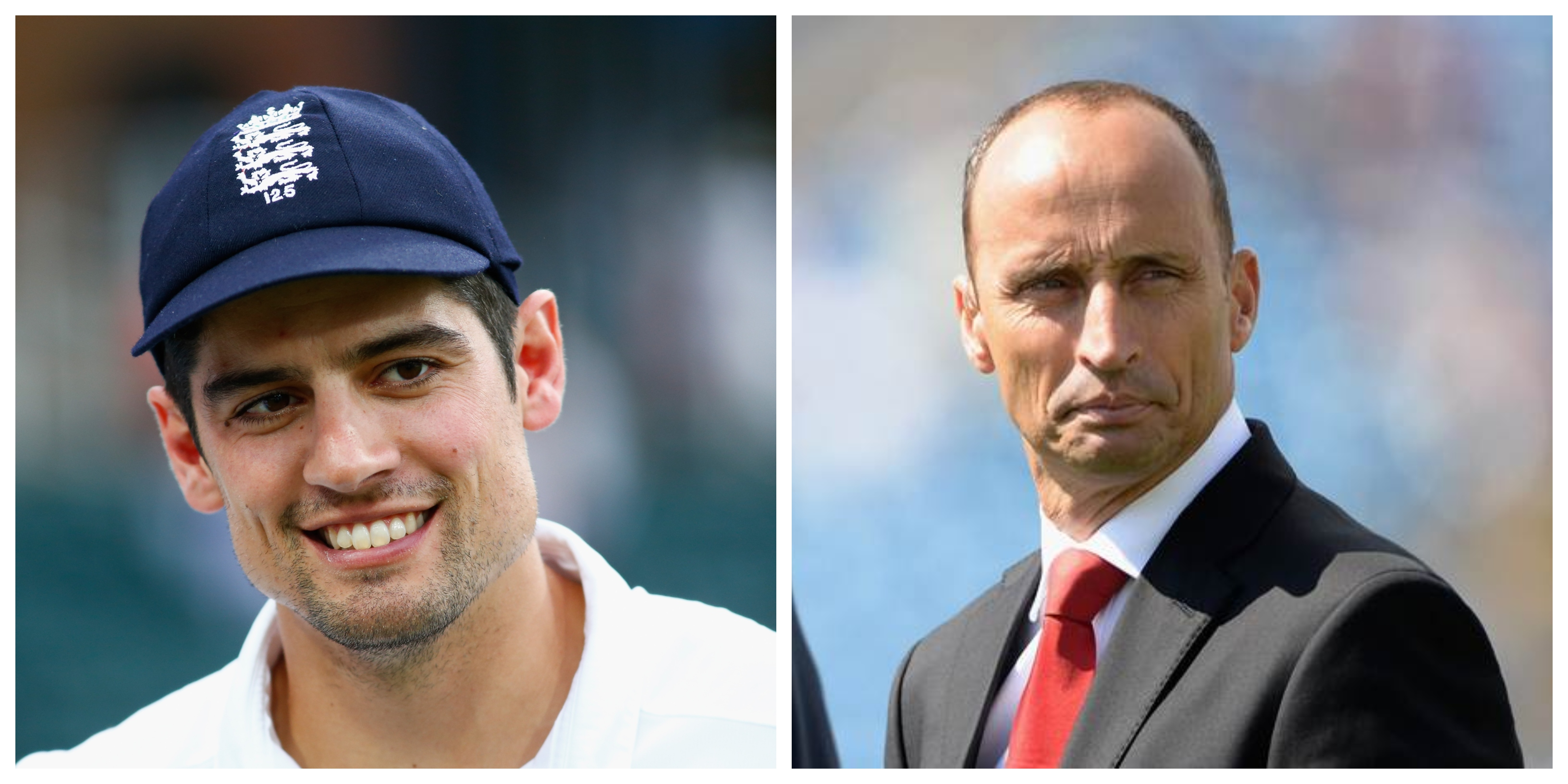 Nasser paid a fitting tribute to Cook. | Getty