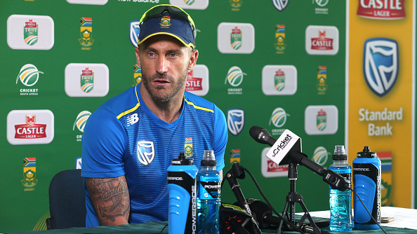 CWC 2019: Faf du Plessis concerned about managing the workload of fast-bowlers with back to back organisation of IPL and World Cup