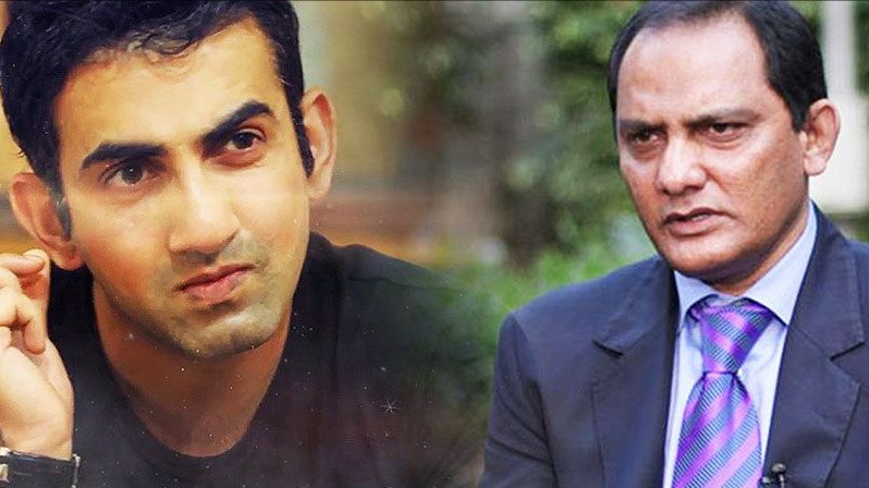 Weird tweet posted from Azharuddin's account after Gambhir slams him for Eden Gardens honour