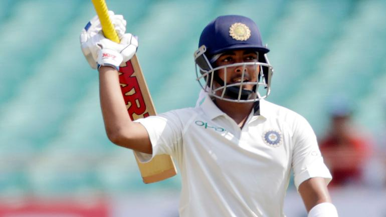 Prithvi Shaw has a mature head over his young shoulders   AFP