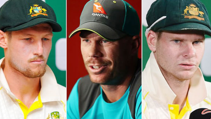 Details of sanctions levied on Smith, Warner, and Bancroft by Cricket Australia