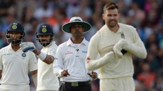 ENG v IND 2018: England's James Anderson fined for breaching ICC Code of Conduct