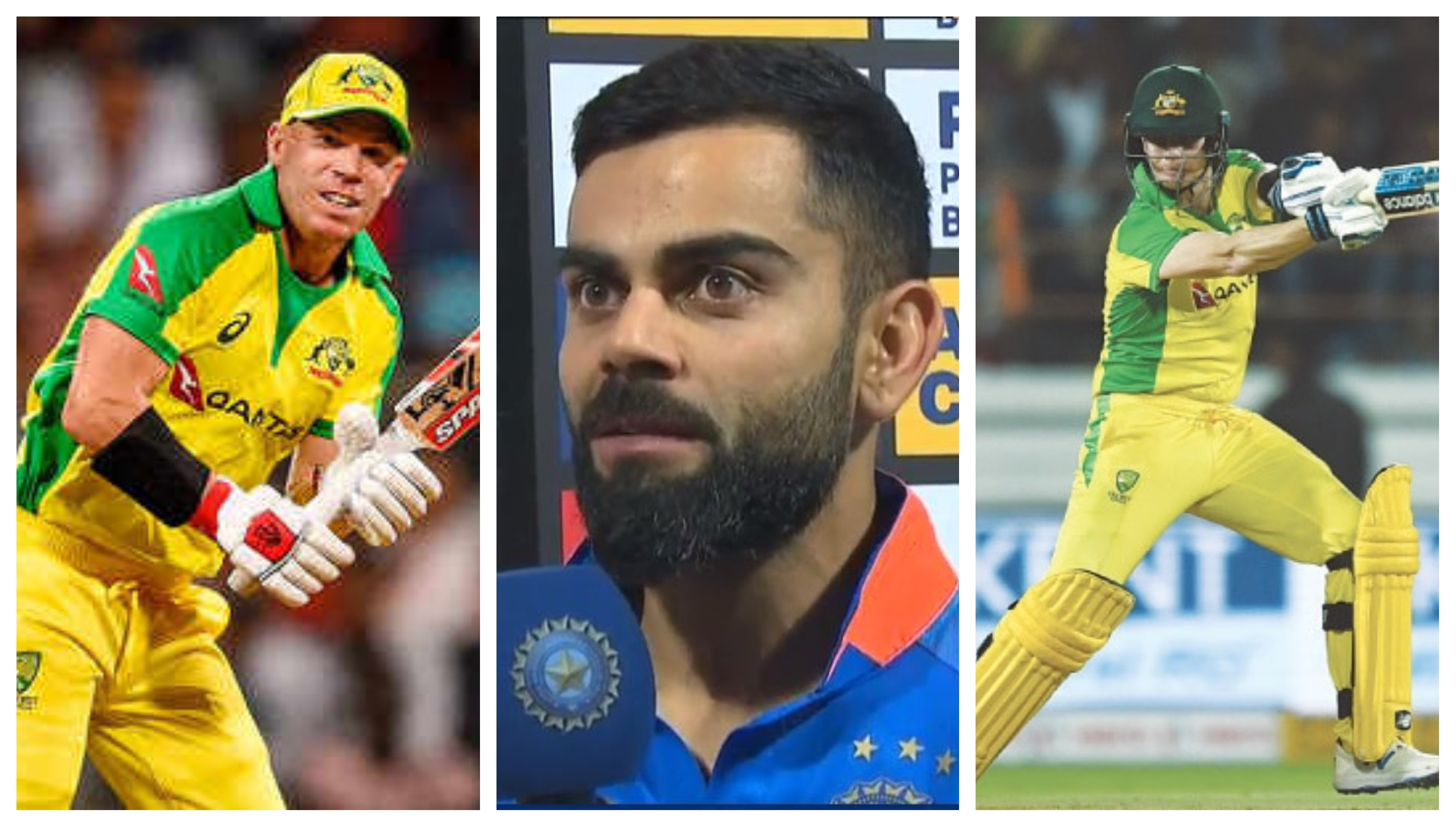 IND v AUS 2020: Kohli satisfied on regaining ODI supremacy over Australia in Smith, Warner's presence
