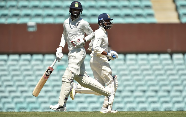Rahul and Vijay added their first 50-run partnership outside the subcontinent in Adelaide | Getty Images