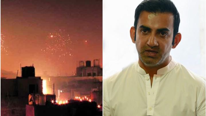 Gautam Gambhir not happy with people bursting crackers amid the Coronavirus pandemic