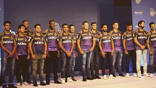 IPL 2018: Kolkata Knight Riders unveil their new look jersey for IPL 11