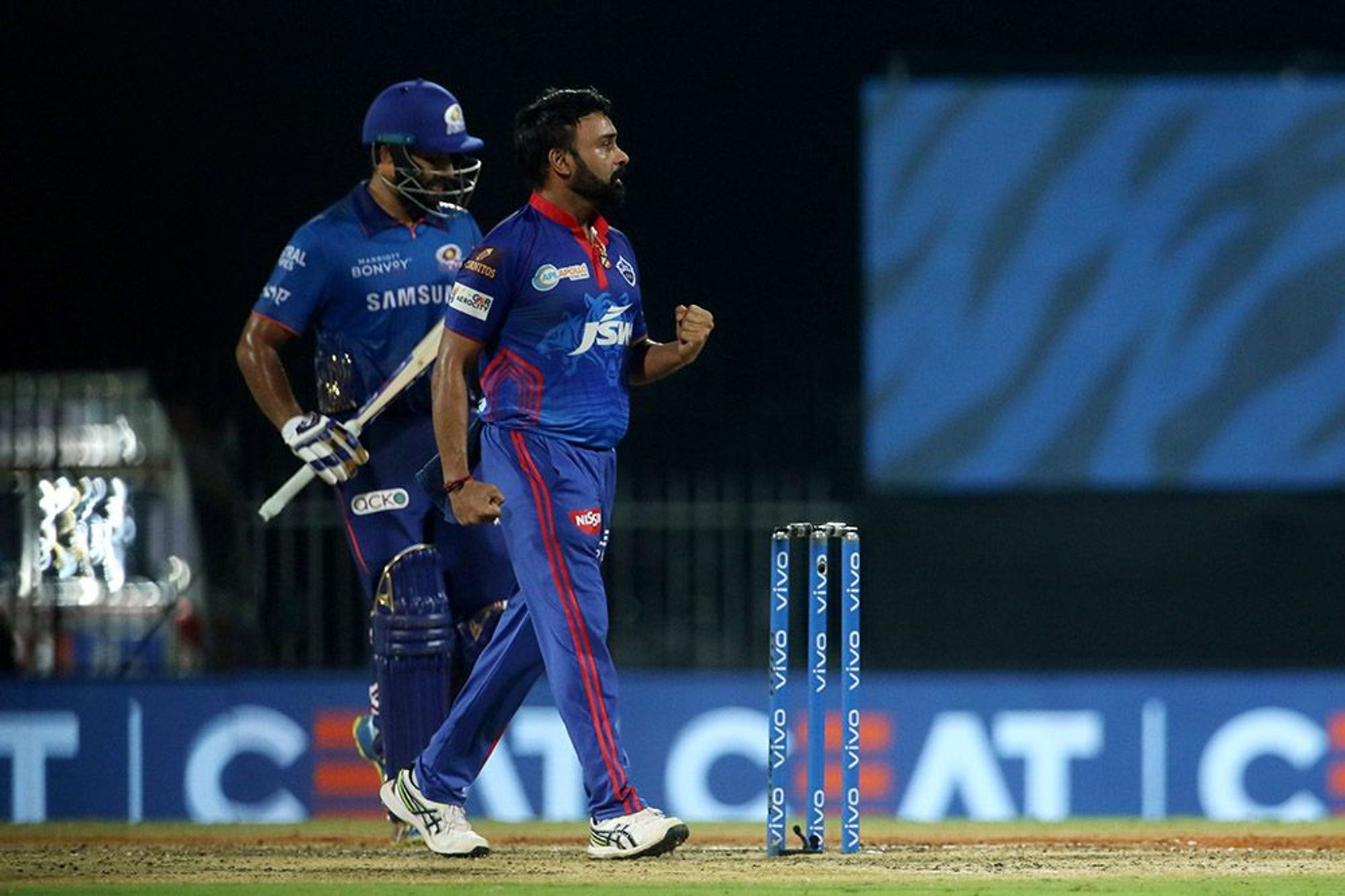 Amit Mishra dismissed a well set Rohit Sharma | BCCI/IPL