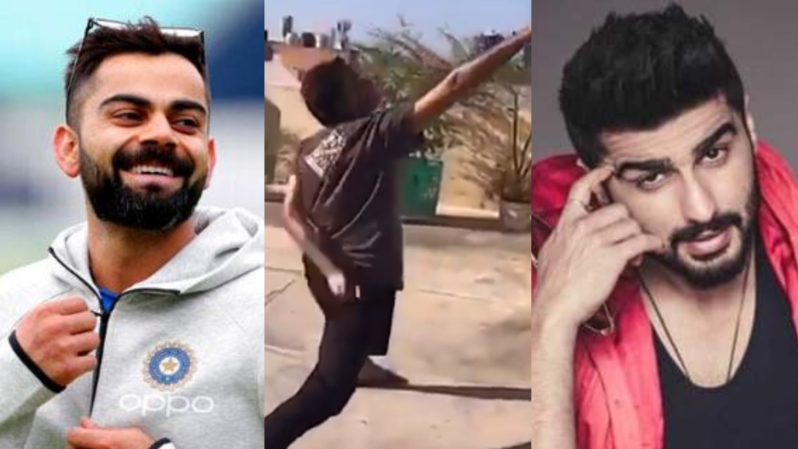 WATCH - Arjun Kapoor shares a funny cricket video; asks Virat Kohli