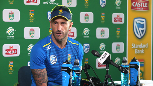 SA v PAK 2018-19: Some of our players are mentally and physically tired, says Faf du Plessis