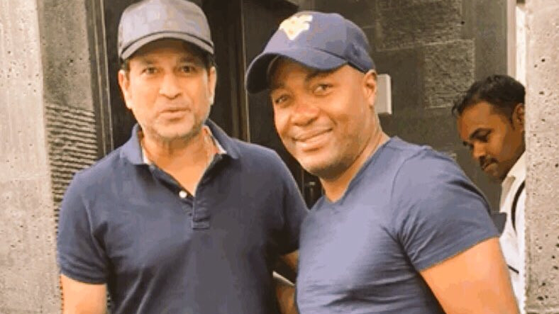 Sachin Tendulkar and Brian Lara said 'no to cricket and yes to golf' in their recent meet