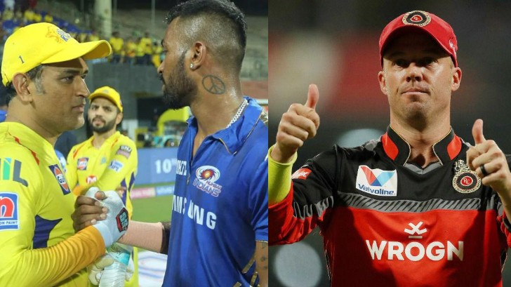IPL 2020: Hardik Pandya tries to be cheeky with MS Dhoni; gets roasted by AB de Villiers