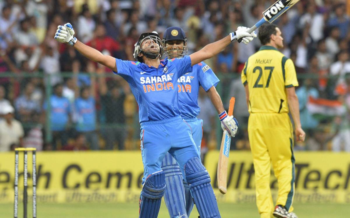 Rohit reflects on his maiden ODI double ton; says he always wants ...