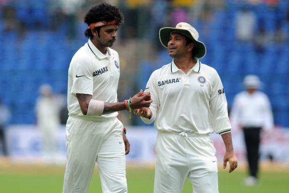 S Sreesanth and Sachin Tendulkar | GETTY