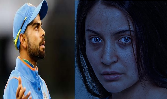 Twitter took a hit at Virat Kohli after Anushka Sharma's look in Pari