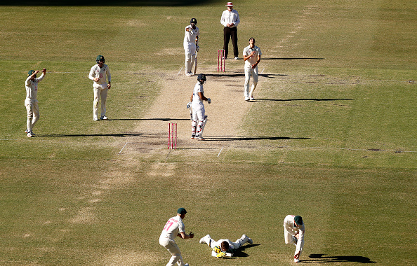 Tim Paine dropped Hanuma Vihari's catch in dying moments of the day | Getty Images