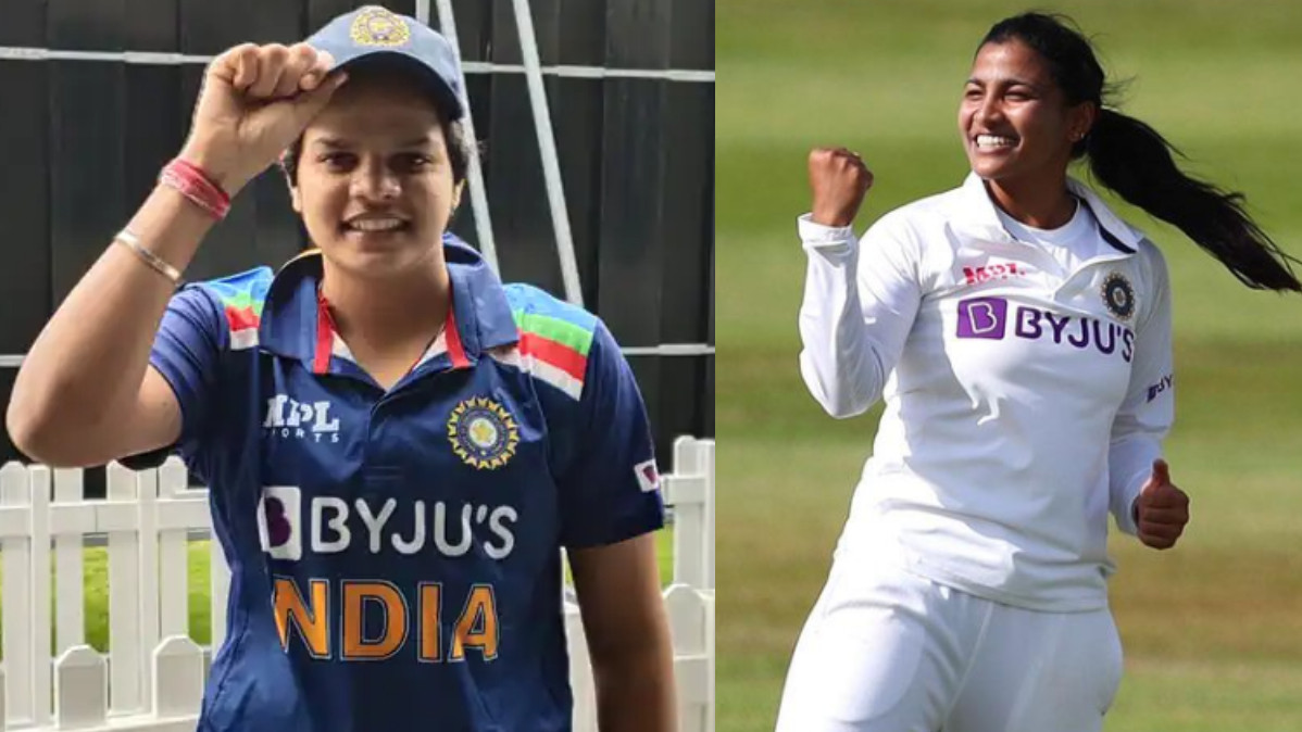 Shafali Verma and Sneh Rana nominated for ICC women's Player of the Month award
