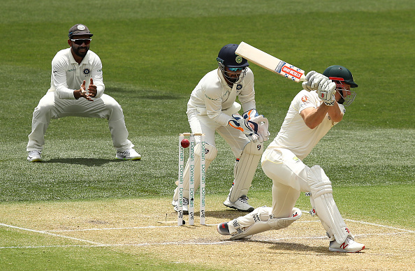 Shaun Marsh was cleaned up by Ashwin with a beauty | Getty