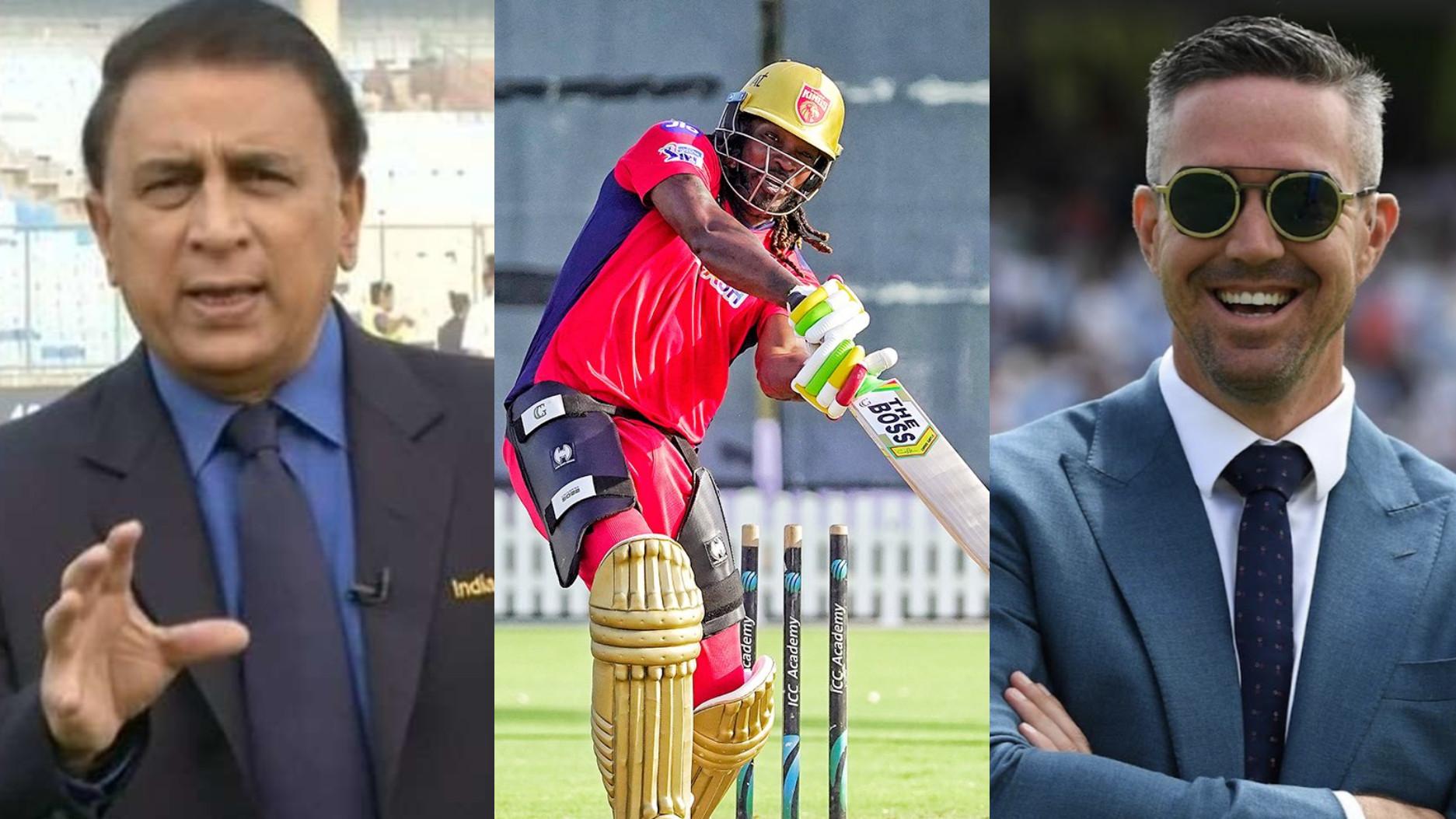 IPL 2021: Makes zero sense- Gavaskar, Pietersen on Gayle's exclusion from PBKS XI