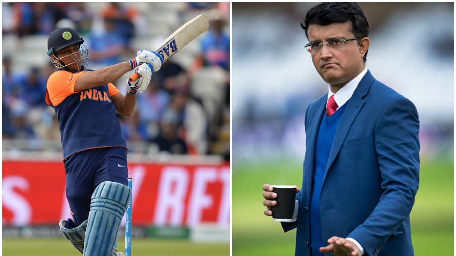 CWC 2019: Sourav Ganguly and Nasser Hussain left baffled with MS Dhoni's approach in the chase