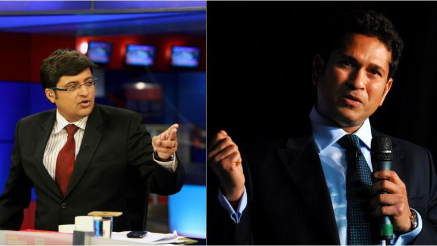 Arnab Goswami calls Sachin Tendulkar anti-national on his news show
