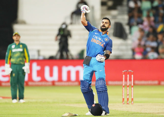SA vs IND 2018: Virat Kohli speaks about his celebration after Durban triumph
