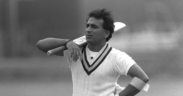 Sunil Gavaskar during his playing days