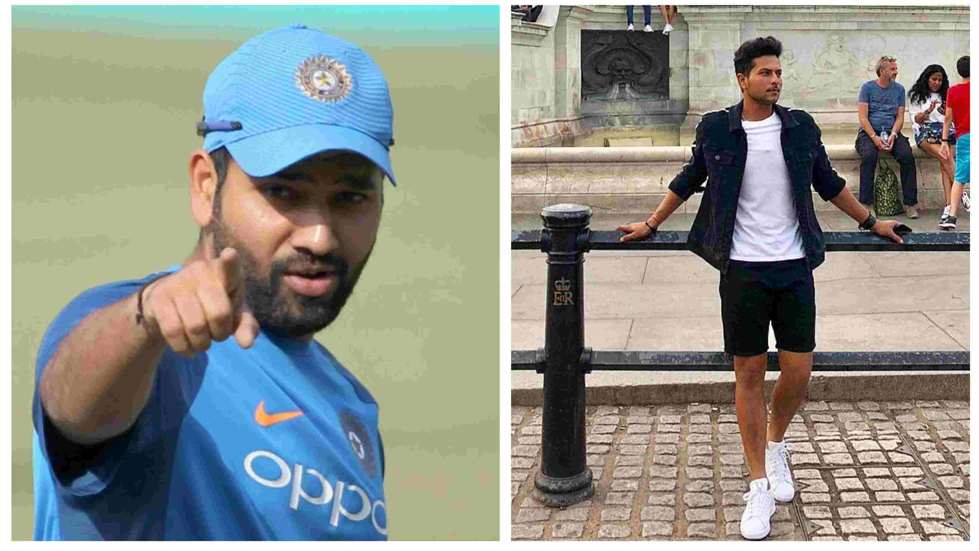 ENG v IND 2018: Rohit Sharma's hilarious response to Kuldeep Yadav's latest Instagram picture