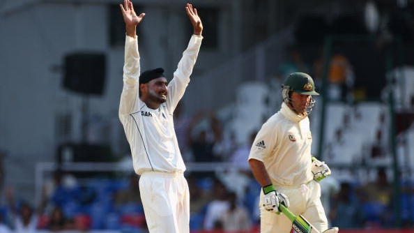 'Ricky Ponting wasn't really comfortable in defending the ball': Harbhajan Singh