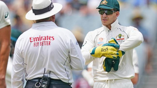 Tim Paine himself was aggrieved with the DRS system during MCG Test | Twitter