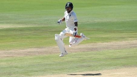 Virat Kohli celebrates his first ton of 2018 in Centurion | AFP