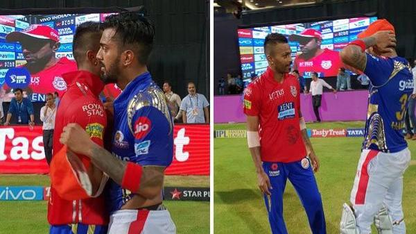IPL 2018: Watch- मैच के बाद ऐसा कर राहुल और हार्दिक ने जीता सबका दिल
