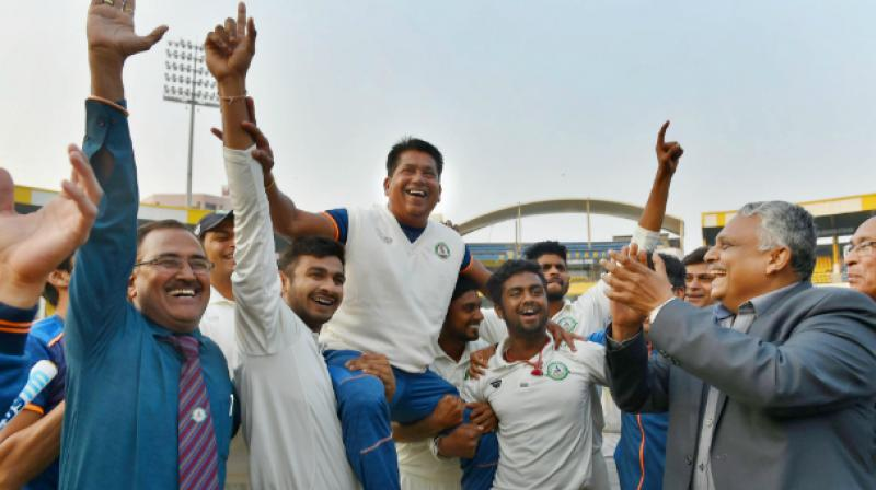 Chandrakant Pandit coached Vidarbha to Ranji Trophy and Irani Trophy wins last year