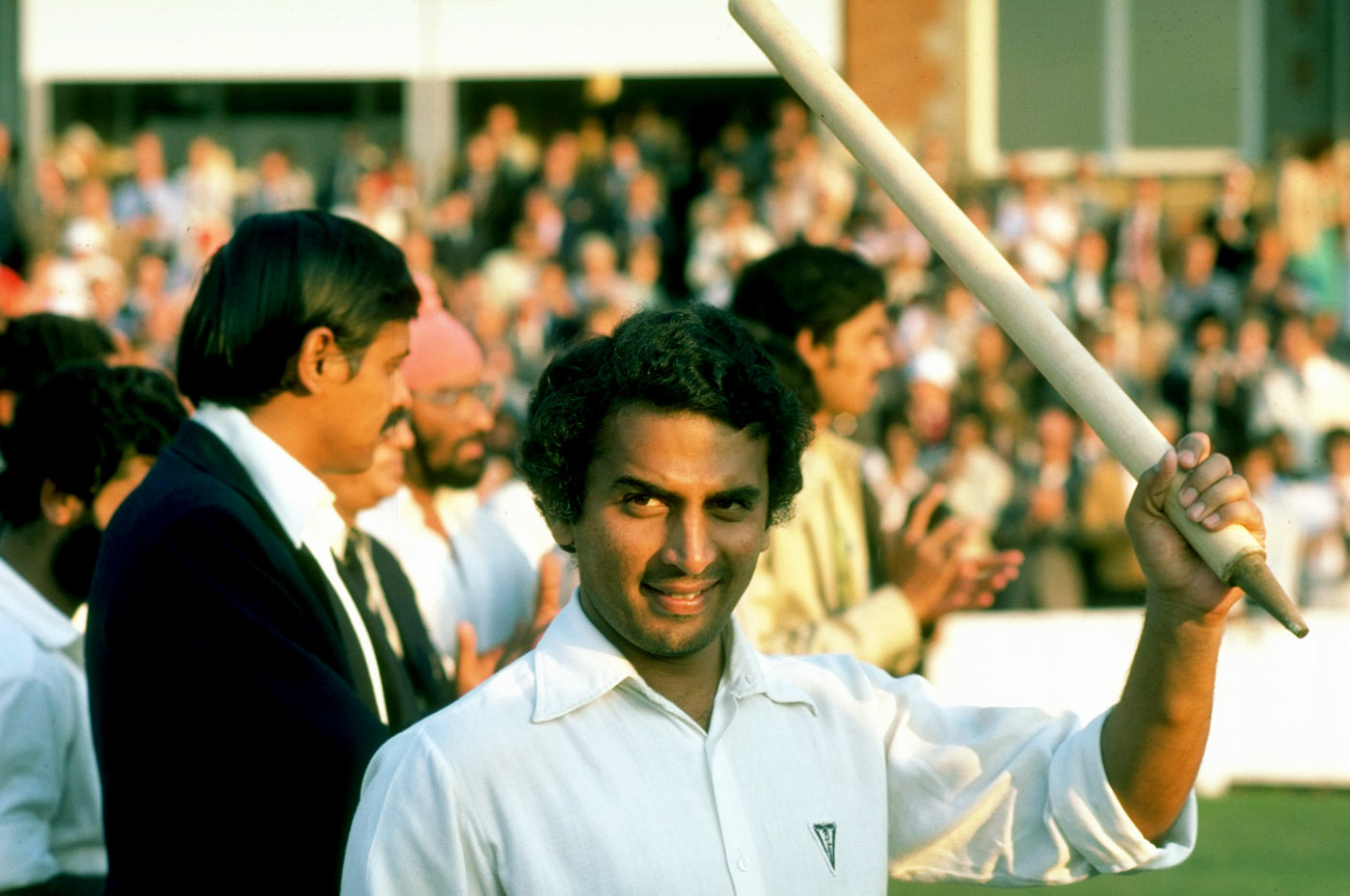Sunil Gavaskar has the highest score by an Indian batsman at the Oval -221 in 1979 | Getty