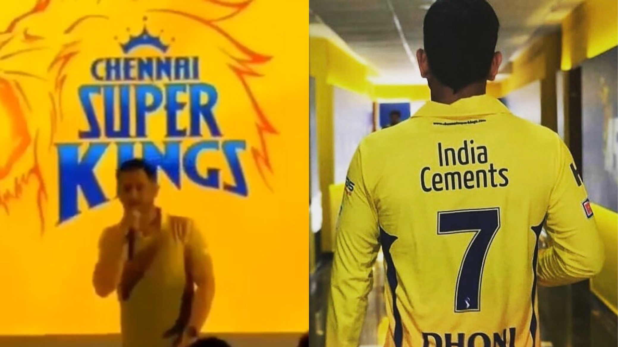 WATCH: MS Dhoni gets emotional while speaking on return of Chennai Super Kings
