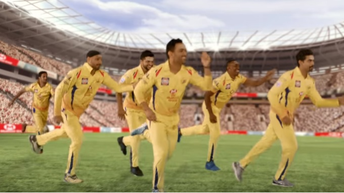 Watch: MS Dhoni and his Chennai Super Kings teammates dancing in a TVC