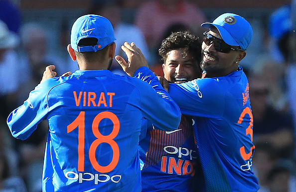 Kuldeep Yadav took 5/24 at Manchester | Getty Images